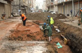 Fatsa'da dev alt yapı çalışması devam ediyor