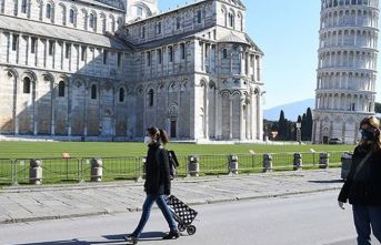 İtalya'da 24 saatte 604 ölüm