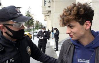Sokağa çıktığı için ceza yiyen gencin tepkisi dikkat çekti: Problem değil!