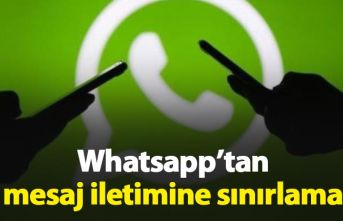 Whatsapp'tan sınırlama