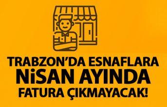 Zorluoğlu açıkladı! Trabzon'da esnafa fatura çıkmayacak!