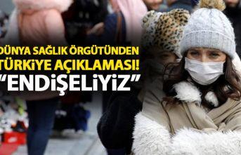 Dünya Sağlık örgütünden Türkiye açıklaması:...