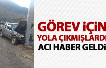 Orman işletme çalışanları kaza yaptı! 1 kişi hayatını kaybetti!