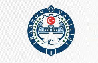 Trabzon Valiliği'nden önemli duyuru! 72 saat...