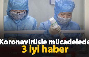 Koronavirüsle mücadelede 3 iyi haber