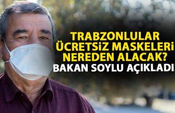 Ücretsiz maske konusunda flaş gelişme! Trabzonlular da oradan alacak!
