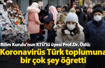Bilim Kurulu üyesi Özlü: Koronavirüs Türk toplumuna...