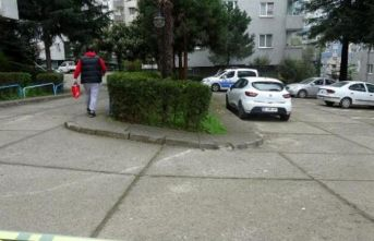 Trabzon'da karantinaya alınan apartmanda son...