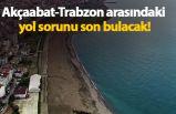 Akçaabat-Trabzon arasındaki yol sorunu son bulacak!