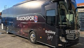 İşte Trabzonspor'un yeni otobüsü