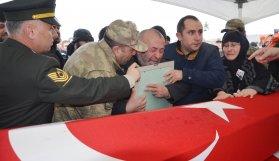 Ordu'da El Bab şehidine acı veda