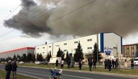 Fabrikada patlama! Kimyasal alarm verildi