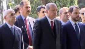 Erdoğan ilk oraya gitti