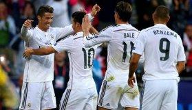 Real Madrid'den yarım düzine gol