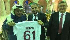 Şeyh Faysal Trabzon'a geliyor
