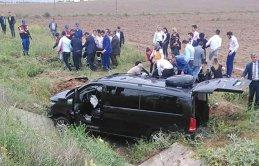 İYİ Partililer, Ankara yolunda kaza geçirdi