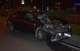 Bakan konvoyunda kaza: 4 polis yaralandı