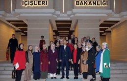 Trabzon Kadın kollarından Başkent'te çıkarma