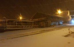 Zigana'da kar yağışı etkili oldu!