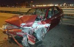 Samsun'da trafik kazası meydana geldi
