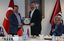 Trabzonspor ve Ankaragücü dotluk yemeğinde buluştu