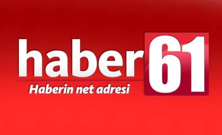 Trabzon'da kan donduran görüntü