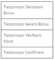 Trabzonspor'un kombinelerinin genel satışı başladı