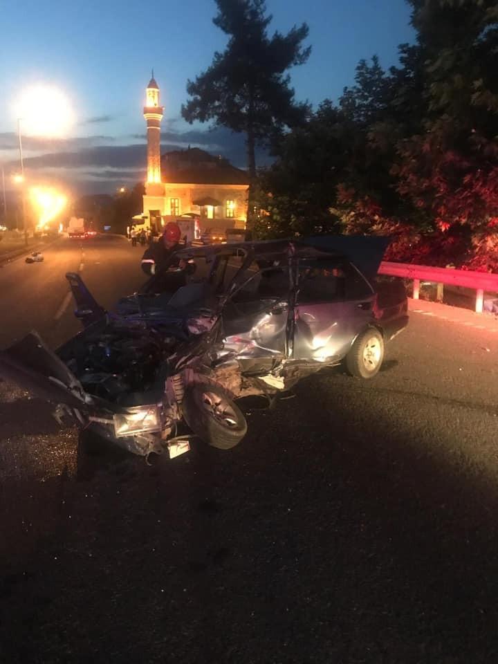Ordu'da feci kaza: 7 Yaralı