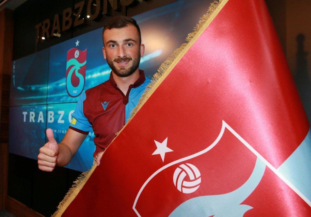 Trabzonspor yeni transferi resmen açıkladı!