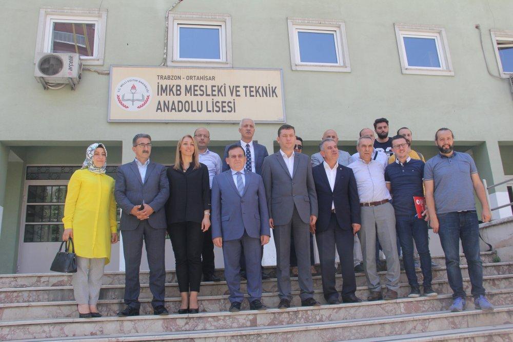 Trabzon'da İMKB MEP projesi basına tanıtıldı
