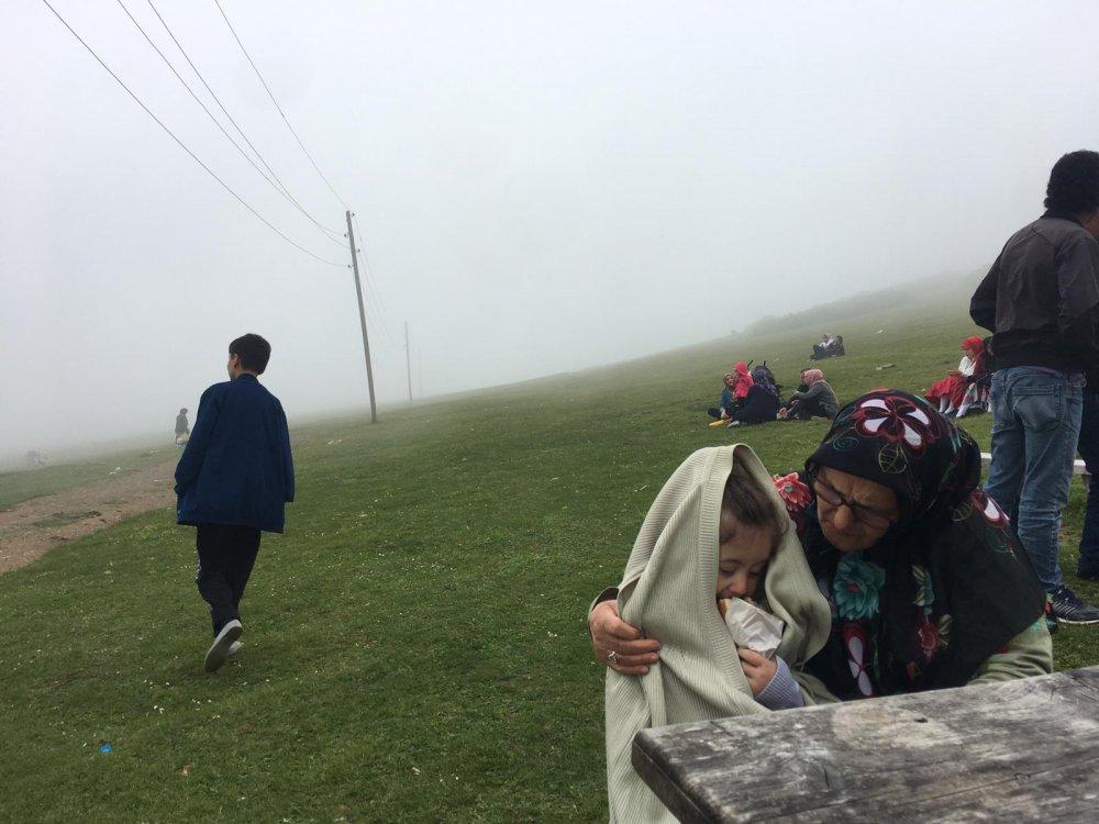 Trabzon'da 'yandım' diyen yaylaya kaçıyor!