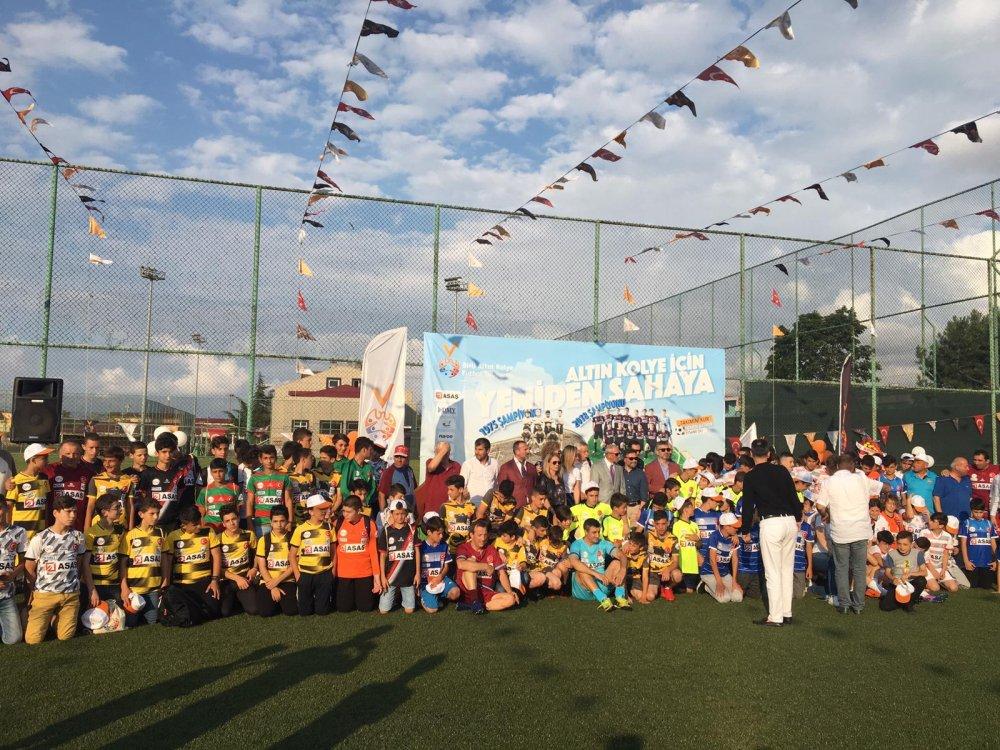 BNU Altın Kolye Futbol Turnuvası başladı