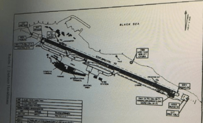 Trabzon'da kaza yağan uçağın ilk kaza raporu geldi