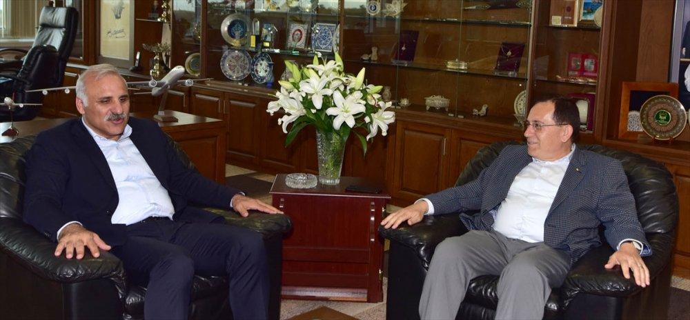Başkan Zorluoğlu'ndan TTSO'ya ziyaret