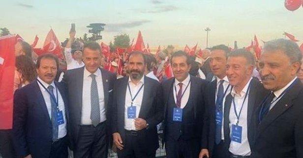 Ağaoğlu kulüp başkanlarıyla İstanbul'da buluştu