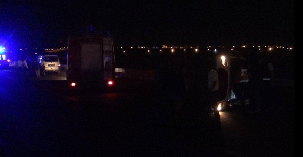 Artvin'den yola çıkan ambulans kaza yaptı!