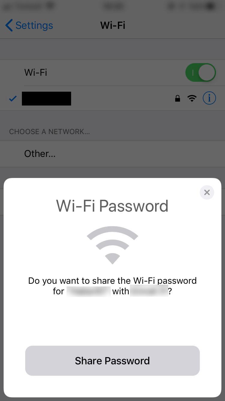 IOS'da Airdrop ile Wifi şifresi nasıl paylaşılır! İphone'larda büyük kolaylık...