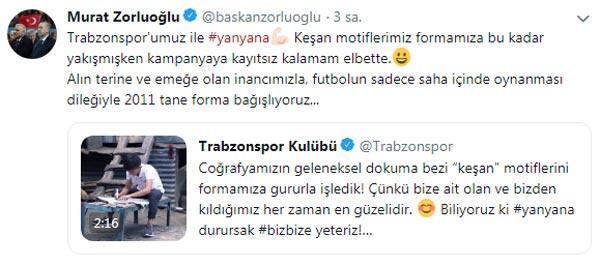 Büyükşehir'den Trabzonspor'a destek - Forma sayısı dikkat çekti