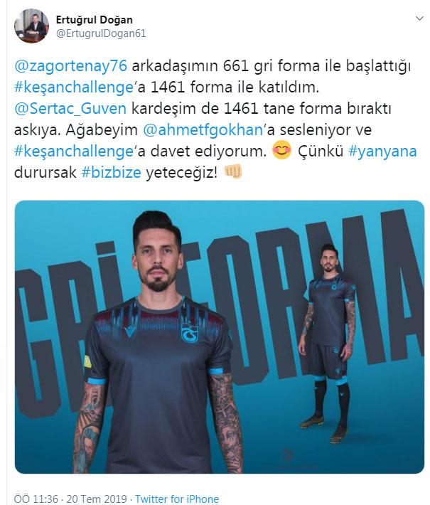 Trabzonspor camiasında forma rekabeti!