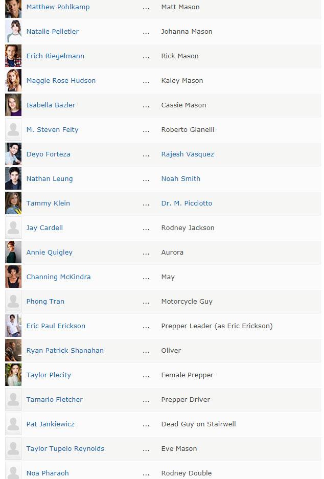 Peki Uzaydan Gelen Felaket dizisi oyuncular kimler?