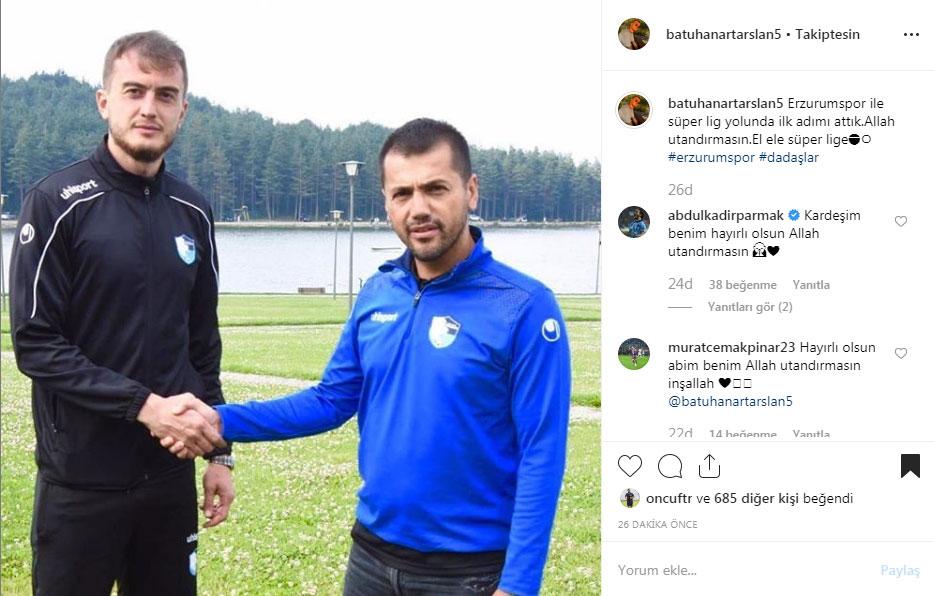 Batuhan Artarslan'ın yeni takımı resmen belli oldu!