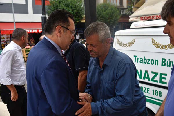 Ali Çavuşoğlu son yolculuğuna uğurlandı