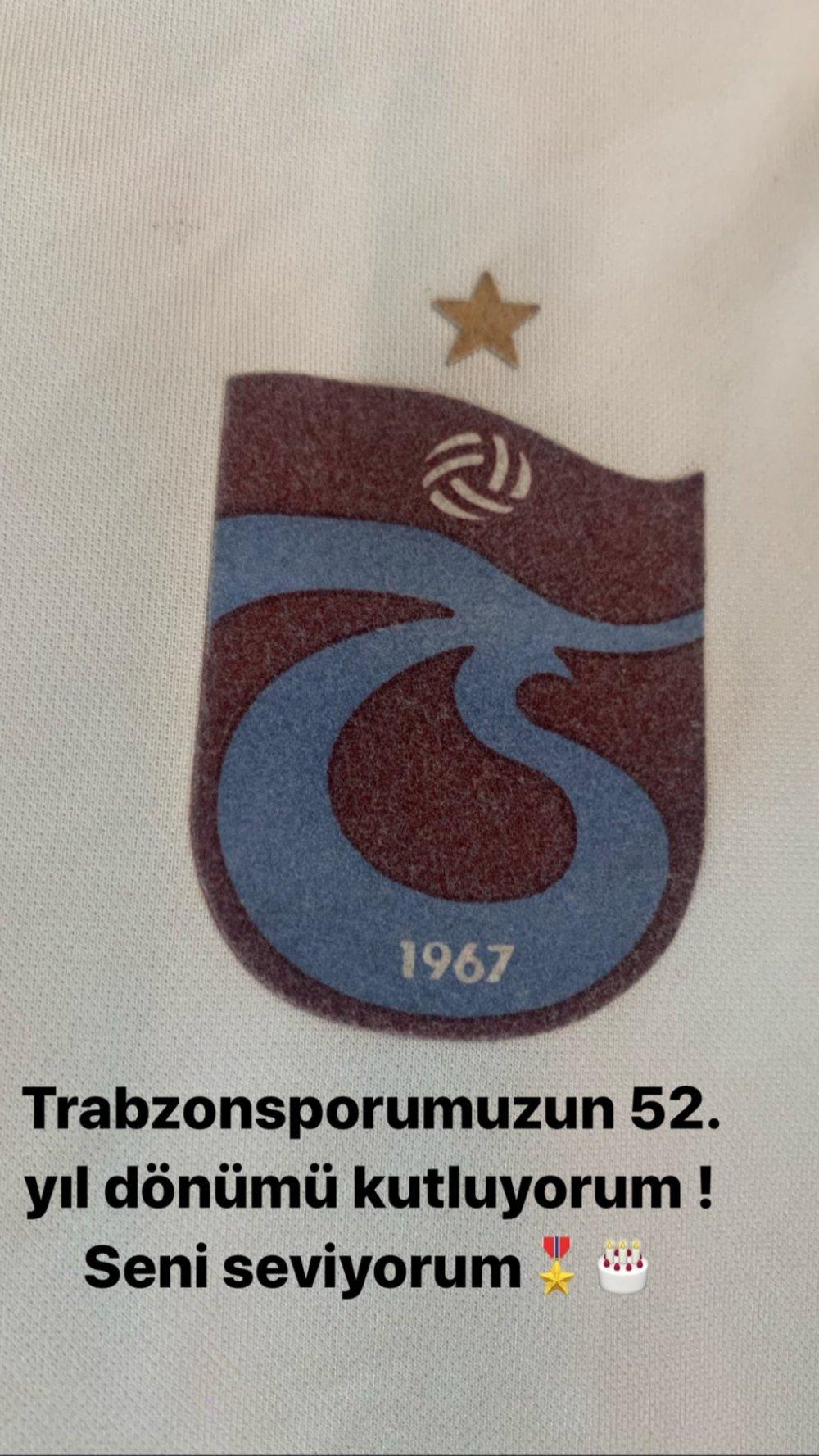 Bongonda ve Uğur Demirok Trabzonspor'u unutmadı!
