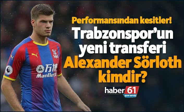Trabzon'spor'un yeni golcüsü Alexander Sörloth Trabzon'a geldi