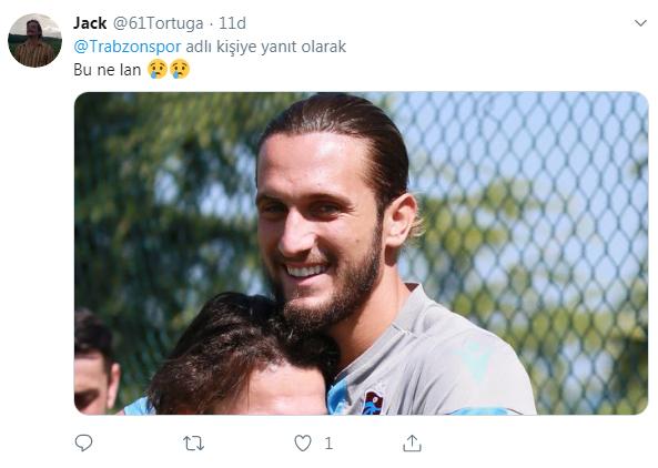 Trabzonspor antrenmanında dikkat çeken görüntü - Yusuf Yazıcı...
