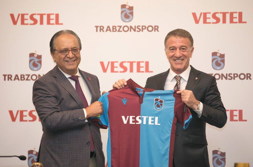 Trabzonspor VESTEL ile sözleşme imzaladı!