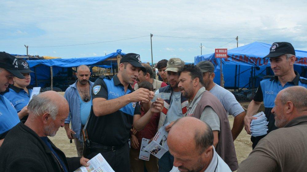 Trabzon'da kurban satıcılarına önemli uyarı