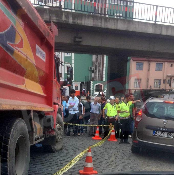 Trabzon'da kaza