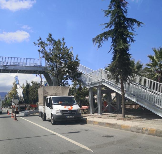 Trabzon'da kazalara önlem için 3 bölgede çalışmalar başladı
