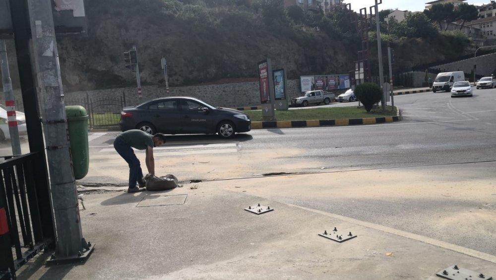 Trabzon'da sürücülerin zor anları – Ekipler seferber oldu